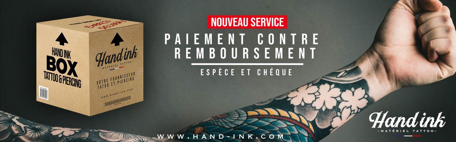Hand Ink Contre Remboursement banner